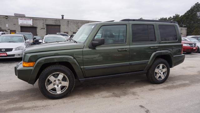 2009 Jeep Commander SPORT 4WD AUTO CERTIFIED 2YR WARRANTY 7 PSSNGRS CAMERA SUNROOF BLUETOOTH HEATED SEATS