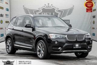 Used 2016 BMW X3 xDrive28i, AWD, NAVI, REAR CAM, PANO ROOF, PARK ASST for sale in Toronto, ON