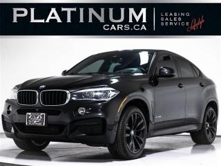 Used 2017 BMW X6 xDrive35i, M-SPORT, NAV, CAM, HEADS UP, TECH PKG for sale in Toronto, ON