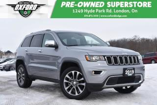 Used 2019 Jeep Grand Cherokee Limited 4x4 - Low Kms, Well Maintained, Fully Equi for sale in London, ON