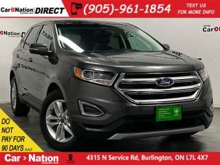 Used 2015 Ford Edge SEL| LEATHER| PANO ROOF| NAVI| for sale in Burlington, ON