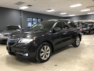 Used 2014 Acura MDX ELITE PACKAGE*FULLY LOADED*DVD*NAVIGATION*360*CAME for sale in North York, ON