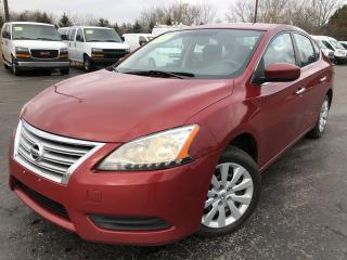 Used 2013 Nissan Sentra S 2WD for sale in Cayuga, ON