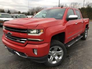 Used 2017 Chevrolet Silverado 1500 LTZ CREW 4X4 for sale in Cayuga, ON