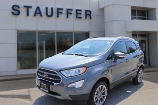 New 2020 Ford EcoSport Titanium for sale in Tillsonburg, ON