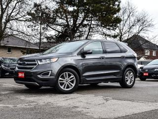 Used 2015 Ford Edge 4dr SEL FWD| NAVIGATION |PANO ROOF|LOADED for sale in Stoney Creek, ON