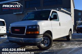 Used 2017 GMC Savana CARGO 2500 ** Full Rack ** 4.8L ** for sale in Laval, QC