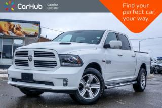 Used 2016 RAM 1500 Sport|4x4|Bluetooth|Backup Cam|Heated Front Seats|R-Start|Sport Hood|20