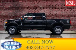 Used 2016 Ford F-350 4x4 Crew Cab Lariat Diesel Leather Roof Nav for sale in Red Deer, AB