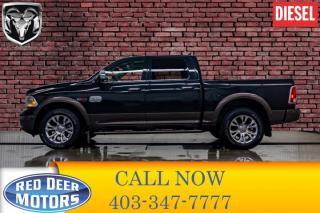 Used 2018 RAM 1500 4x4 Crew Cab Longhorn EcoDiesel Leather Roof Nav for sale in Red Deer, AB