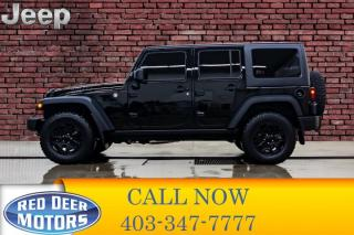 Used 2018 Jeep Wrangler JK Unlimited Willys Wheeler Leather for sale in Red Deer, AB