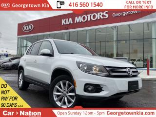 Used 2017 Volkswagen Tiguan 4MOTION Wolfsburg Edition | LEATHER | BACK UP CAM for sale in Georgetown, ON