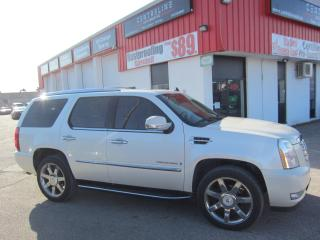 Used 2007 Cadillac Escalade 10,995+HST+LIC FEE / CERTIFIED / DVD PLAYER / TINTED GLASS for sale in North York, ON