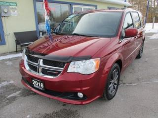 Used 2016 Dodge Grand Caravan FAMILY MOVING SE-PLUS EDITION 7 PASSENGER 3.6L - V6.. CAPTAINS.. STOW-N-GO.. NAVIGATION.. BACK-UP CAMERA.. DVD PLAYER.. BLUETOOTH SYSTEM.. for sale in Bradford, ON