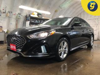 Used 2019 Hyundai Sonata Power sunroof * Semi leather interior *  Blind spot assist * Rear cross traffic alert * Apple Car Play & Andriod Auto * Auto/manual with paddle shifte for sale in Cambridge, ON