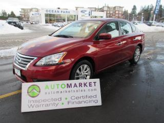 Used 2015 Nissan Sentra SV, AUTO, CAMERA, INSP, BCAA MBSHP, WARRANTY, FINANCE for sale in Surrey, BC