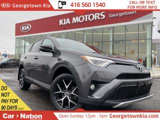 Used 2016 Toyota RAV4 SE | AWD | NAVI | LEATHER | ROOF | B/U CAM |LOW KM for sale in Georgetown, ON
