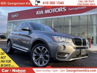 Used 2015 BMW X3 xDrive28i | NAVI | PANO ROOF | AWD | LEATHER | CAM for sale in Georgetown, ON