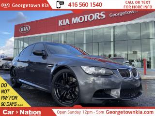 Used 2008 BMW 3 Series M3 | 6 SPEED MANUAL | LEATHER | ROOF | NAVI | V8 for sale in Georgetown, ON