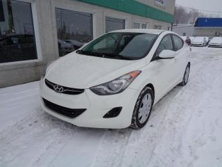 Used 2013 Hyundai Elantra Berline 4 pts tans manuelle GL *Disp. li for sale in St-Jérôme, QC