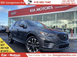 Used 2016 Mazda CX-5 GT AWD | NAVI | LEATHER | ROOF | BOSE | B/U CAMERA for sale in Georgetown, ON