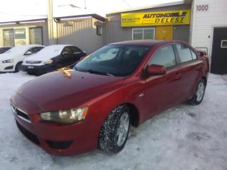 Used 2008 Mitsubishi Lancer 4DR SDN for sale in Longueuil, QC