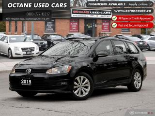 Used 2015 Volkswagen Golf Sportwagon 1.8 TSI Highline Navigation! Back Up Camera! for sale in Scarborough, ON