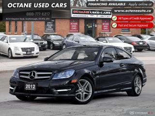 Used 2012 Mercedes-Benz C-Class C 250 Low KMs! Certified Price! for sale in Scarborough, ON