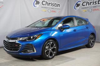 Used 2019 Chevrolet Cruze LT RS SPORT 5 PORTES HAYON JUPES FOG for sale in Montréal, QC