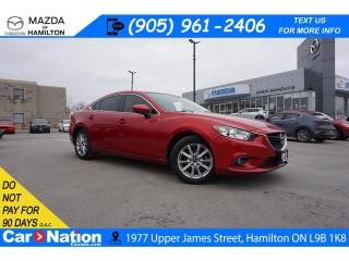 Used 2015 Mazda MAZDA6 GS | LEATHER | SUNROOF | NAV | REAR CAM | HTD SEAT for sale in Hamilton, ON