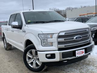 Used 2015 Ford F-150 Platinum LEATHER, HEATED SEATS for sale in Midland, ON