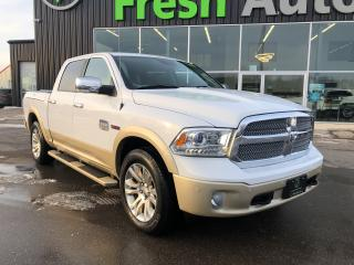 Used 2015 RAM 1500 4WD Crew Cab,  Longhorn, One Owner, Ram Box for sale in Ingersoll, ON