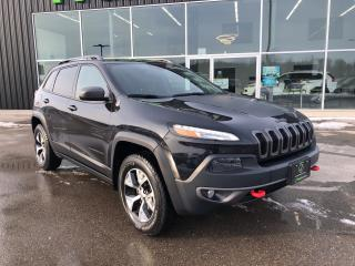 Used 2016 Jeep Cherokee 4WD 4dr Trailhawk, Navigation for sale in Ingersoll, ON