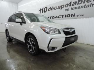 Used 2015 Subaru Forester 2.0 XT TOURING AWD - TOIT PANORAMIQUE - CAMÉRA REC for sale in St-François-Du-Lac, QC