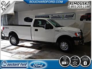 Used 2013 Ford F-150 HD 4X4 CAB REG BOITE 8` for sale in Rimouski, QC