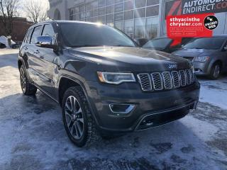 Used 2017 Jeep Grand Cherokee Overland - TOIT PANO - MAGS 20po - CRUIS for sale in St-Hyacinthe, QC