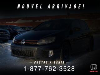 Used 2012 Volkswagen Golf GTI GTI + TOIT OUVRANT + BLUETOOTH + WOW!! for sale in St-Basile-le-Grand, QC