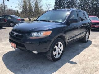 Used 2007 Hyundai Santa Fe GLS LEATHER SUNROOF LOW KMS CERTIFIED for sale in Stouffville, ON