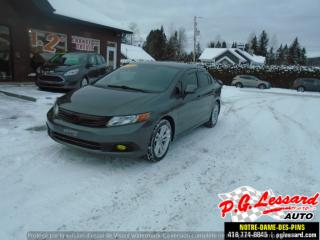 Used 2012 Honda Civic LX for sale in St-Prosper, QC