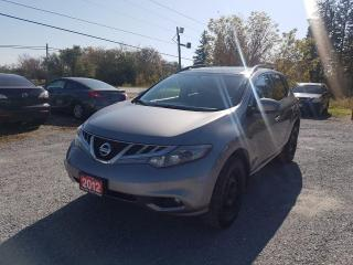 Used 2012 Nissan Murano SV SUNROOF BACK UP CAMERA 1 OWNER AWD CERTIFIED for sale in Stouffville, ON