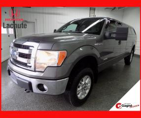 Used 2013 Ford F-150 XLT ÉCOBOOST 4X4 BTE 8PIEDS !!! for sale in Lachute, QC