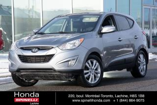 Used 2011 Hyundai Tucson LIMITED NAVI BAS KM AWD CUIR TOIT PANO NAVIGATION++ for sale in Lachine, QC