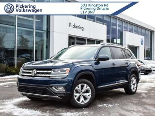 Used 2018 Volkswagen Atlas HIGHLINE!! LOADED ROOF + NAV for sale in Pickering, ON