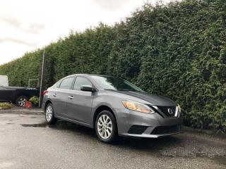 Used 2018 Nissan Sentra SV 4dr FWD Sedan + HEATED FT SEATS + SUNROOF + BACK-UP CAMERA + NO EXTRA DEALER FEES for sale in Surrey, BC