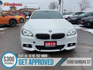 Used 2015 BMW 5 Series for sale in London, ON