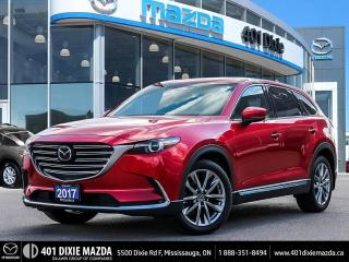 Used 2017 Mazda CX-9 ONE OWNER | NO ACCIDENTS | 1.99% FINANCING AVAILAB for sale in Mississauga, ON