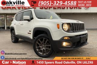 Used 2016 Jeep Renegade 75TH ANNIVERSARY | BACKUP CAM | HTD STEERING for sale in Oakville, ON