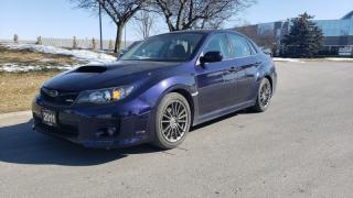 Used 2011 Subaru Impreza 4dr Sdn WRX w/Limited Pkg | 2 Owners | Accident-Free for sale in Vaughan, ON