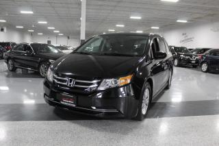 Used 2016 Honda Odyssey EX-L I LEATHER I BIG SCREEN I REAR CAM I SUNROOF I HEATDSEAT for sale in Mississauga, ON