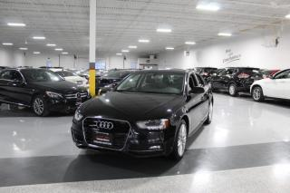 Used 2016 Audi A4 QUATTRO I S-LINE I LEATHER I SUNROOF I HEATED SEATS I BT for sale in Mississauga, ON